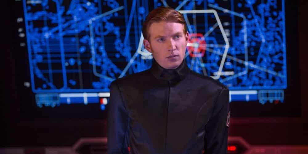 General Hux en Star Wars (El despertar de la Fuerza)