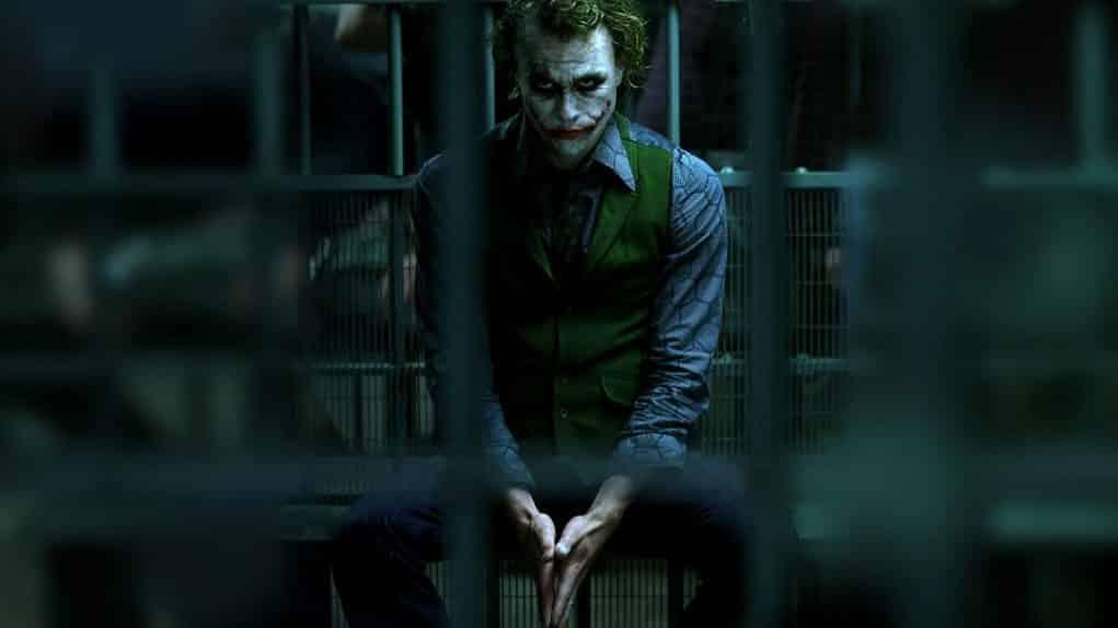 Heath Ledger el Joker de 'El Caballero Oscuro' Nolan 2008