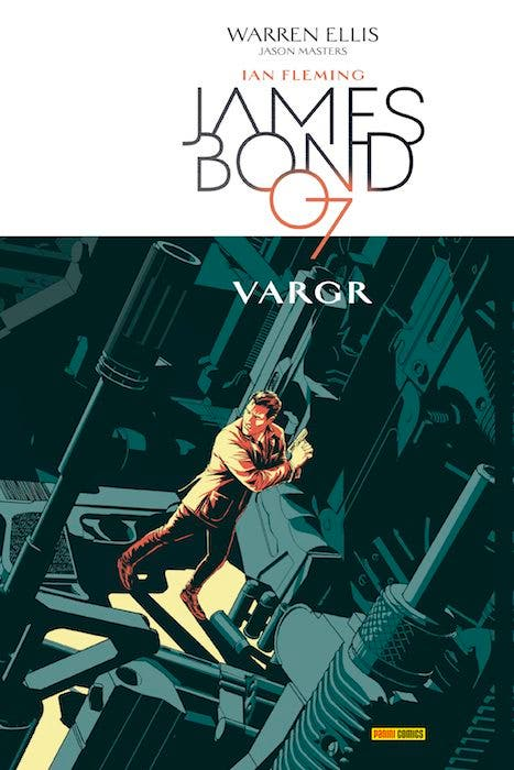 Portada James Bond 007 Vargr