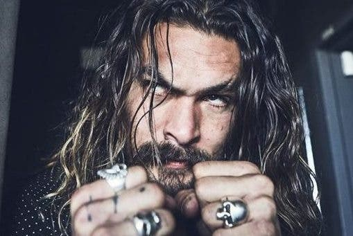 Jason Momoa como Aquaman (movie 2017) 6