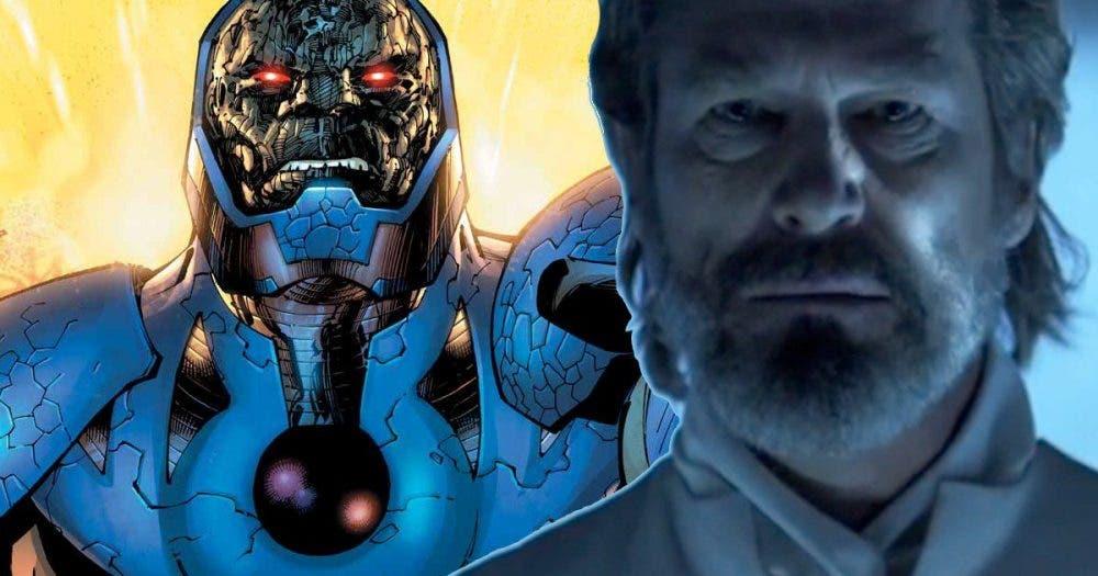 Jeff Bridges como Darkseid en la Liga de la Justicia