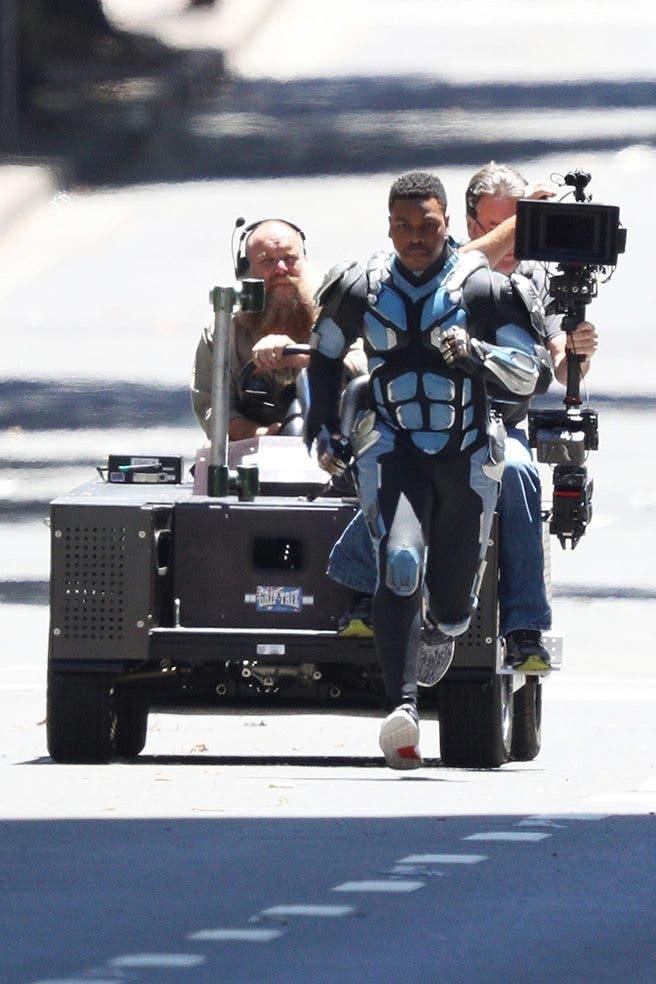 John Boyega en el rodaje de Pacific Rim 2 (1)