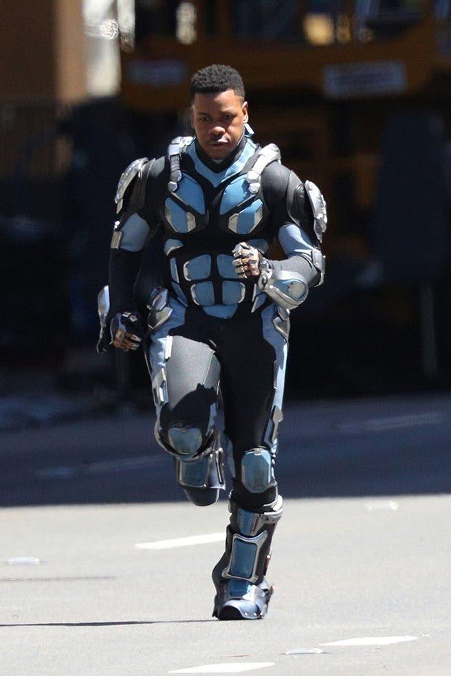 John Boyega en el rodaje de Pacific Rim 2 (3)