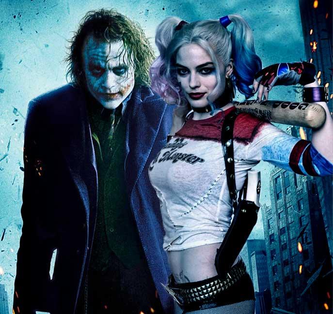 Joker de Heath Ledger y Harley Quinn