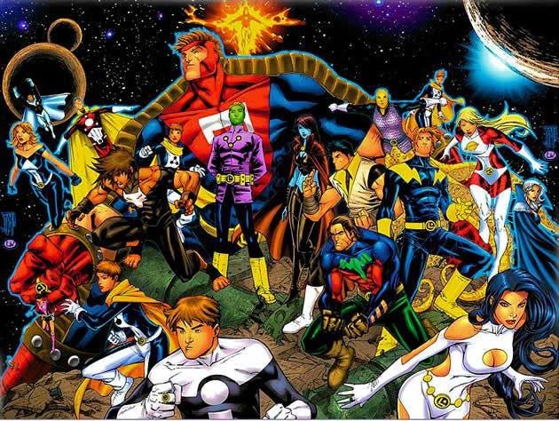 Legion of Superheroes pelicula