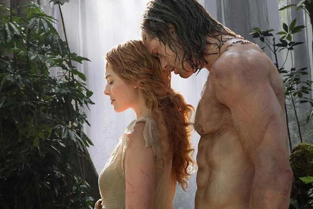 Margot Robbie en Tarzan hot sex