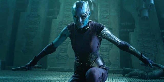 Nebula Karen Gillan en Vengadores La Guerra del Infinito y Vengadores 4
