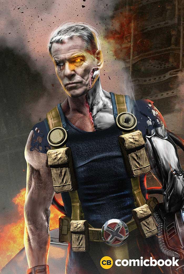 Pierce Brosnan como Cable en 'Deadpool 2'
