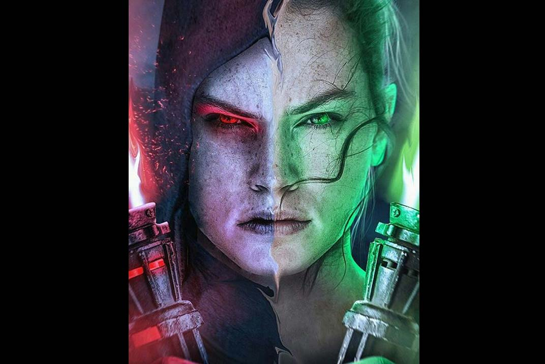 Rey en el Lado Oscuro de la Fuerza en 'Star Wars: The Last Jedi'