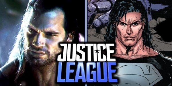 Superman pelea con Black Adam en la Liga de la Justicia (2017) 1