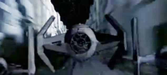 TIE Advanced de Darth Vader