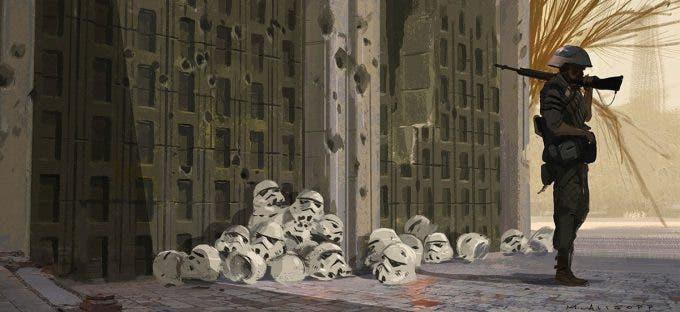 El arte de Rogue One: una historia de Star Wars