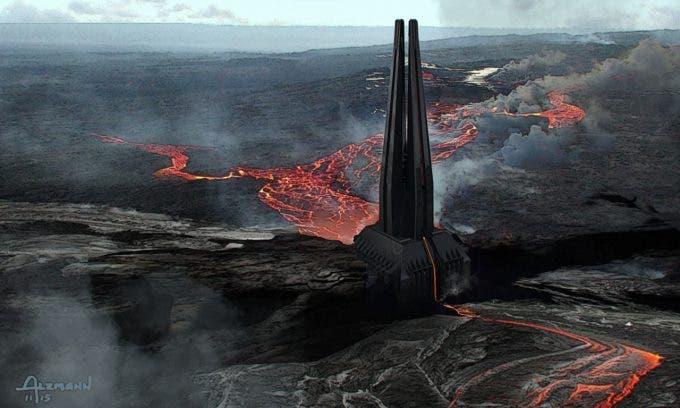 Castillo de Darth Vader en Rogue One