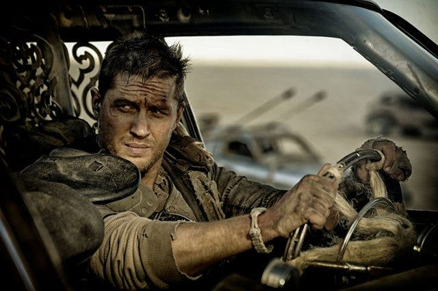 Tom Hardy en 'Mad Max: Fury Road' y secuelas Mad Max: Furia en la Carretera