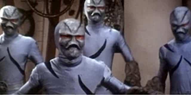 aspecto de los Masillas en Power Rangers
