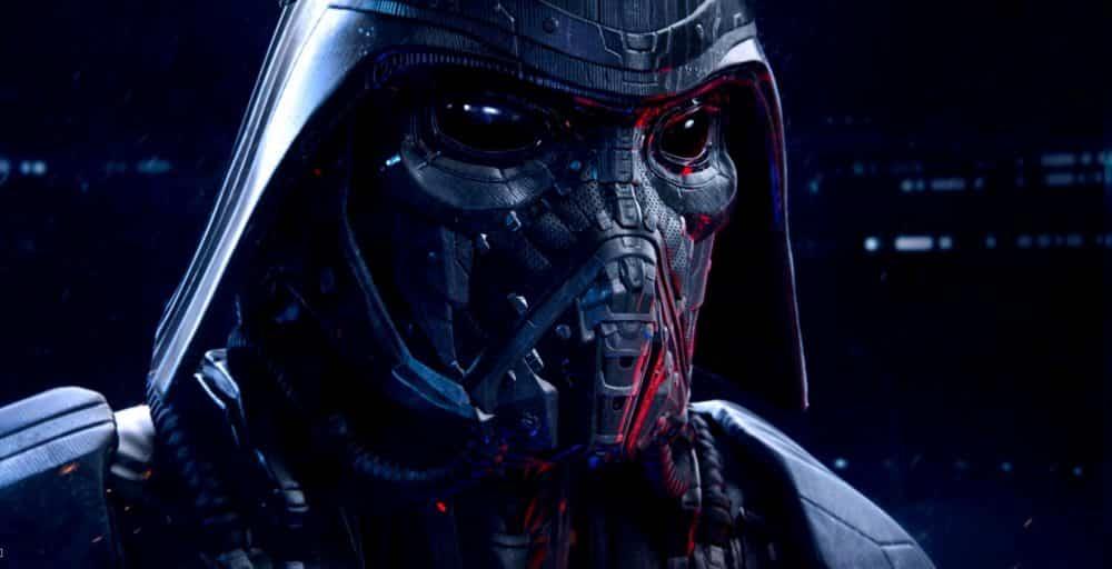 aspecto original de Kylo Ren en 'Star Wars: El despertar de la Fuerza'