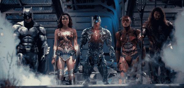 cambio de tono en la Liga de la Justicia y Aquaman con respecto a Batman v Superman