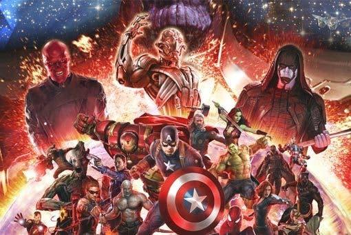 comienzo rodaje con actores en 'Vengadores: La Guerra del Infinito'