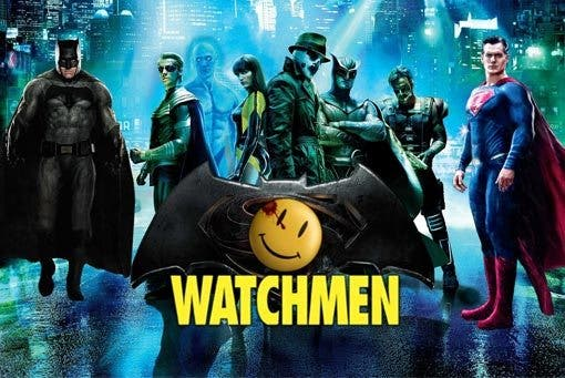 easter egg oculto Watchmen Batman v Superman