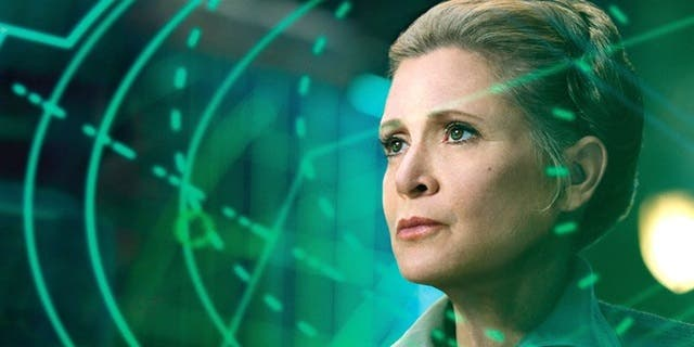 escenas clave de Carrie Fisher y Leia en Star Wars VIII