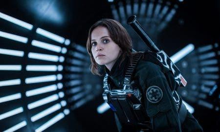 explicacion de Jyn Erso Felicity Jones en Rogue One Star Wars