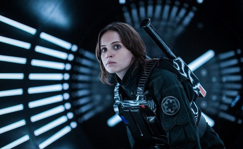 explicacion de Jyn Erso Felicity Jones en Rogue One Star Wars