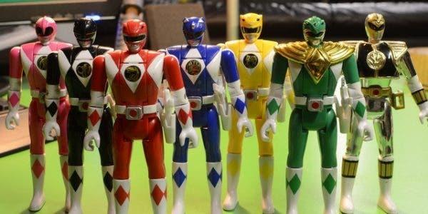 figuras de Power Rangers