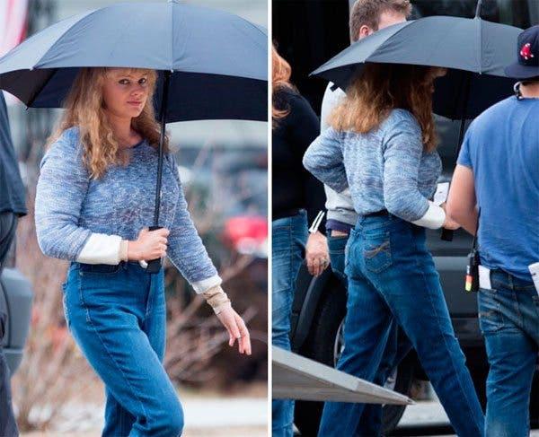 La transformación de Margot Robbie para I, Tonya (2017)