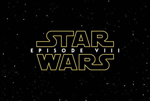 logo oficial de Star Wars: Episodio VIII