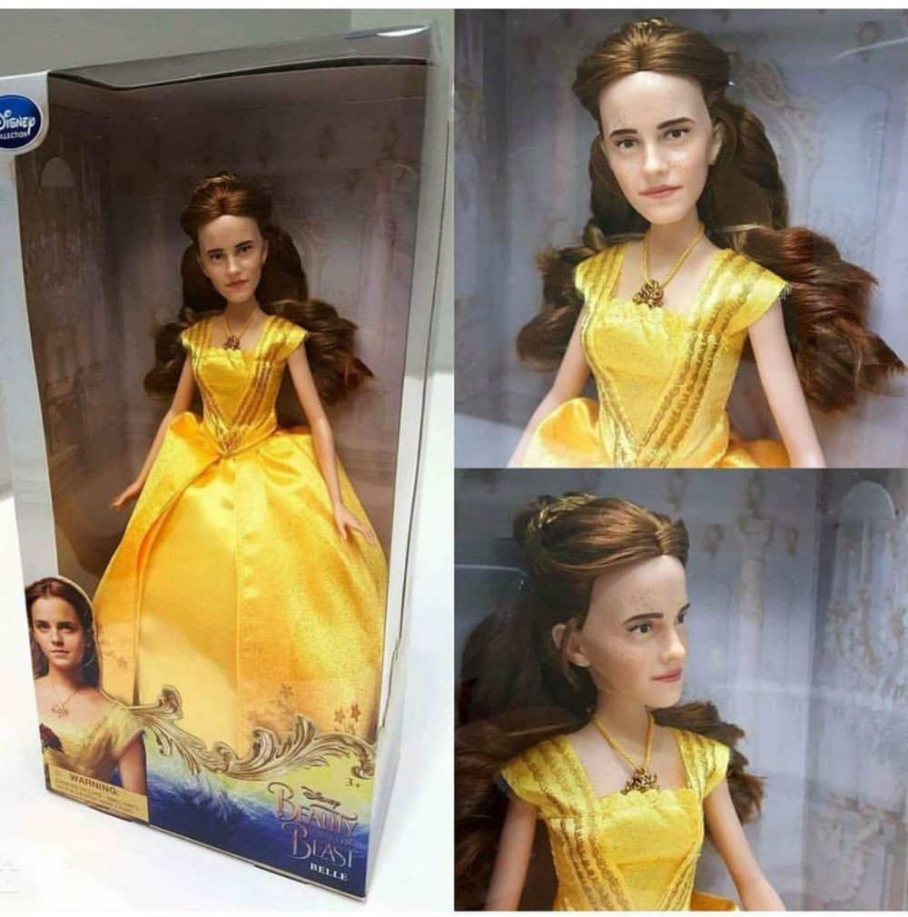 muñeca Emma Watson La Bella y la Bestia