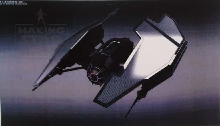 nave de Kylo Ren en Star Wars VIII (1)