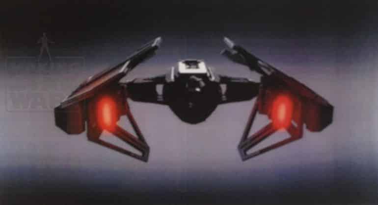 nave de Kylo Ren en Star Wars VIII (2)