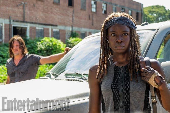 Primeras imágenes de The Walking Dead