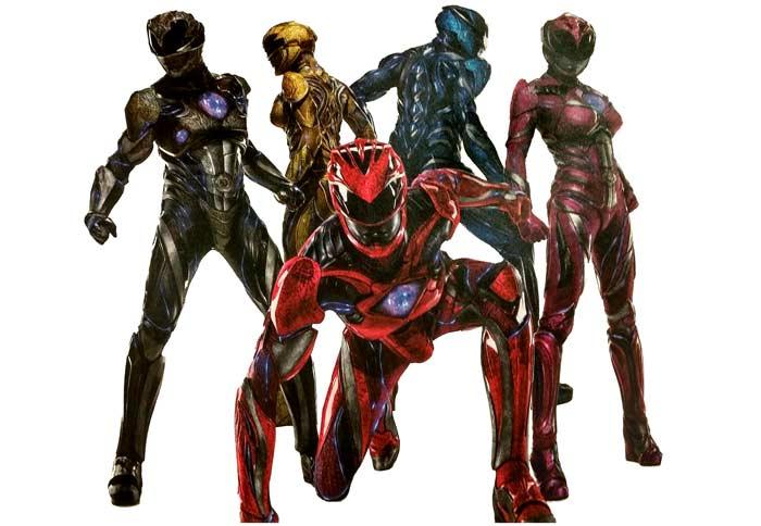 nueva imagen promocional de Power Rangers