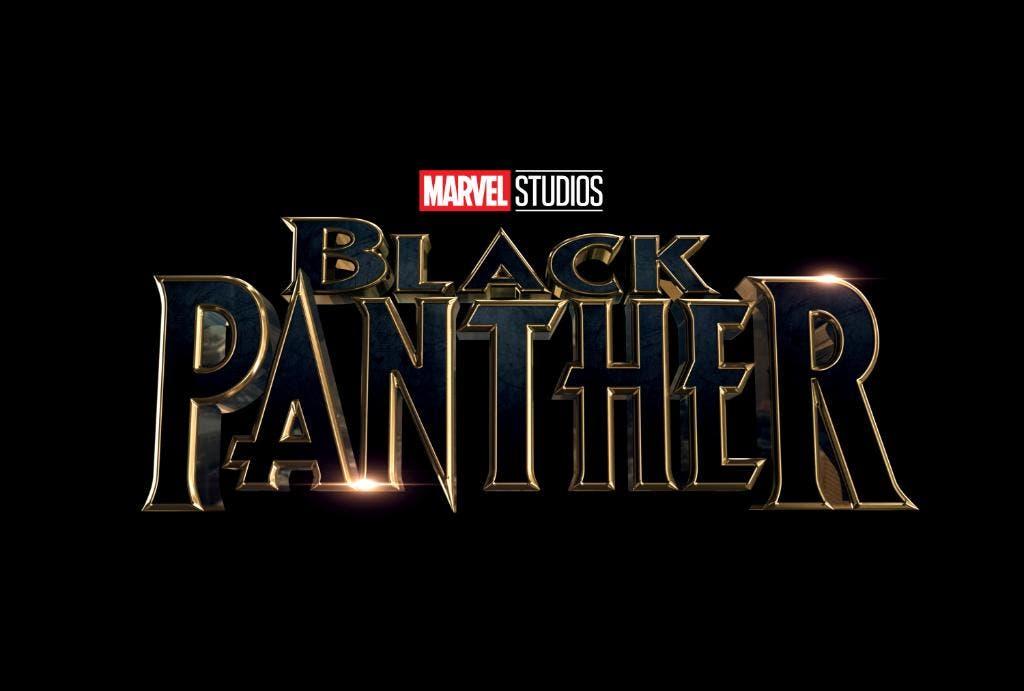 Logotipo de 'Black Panther (Pantera Negra)'