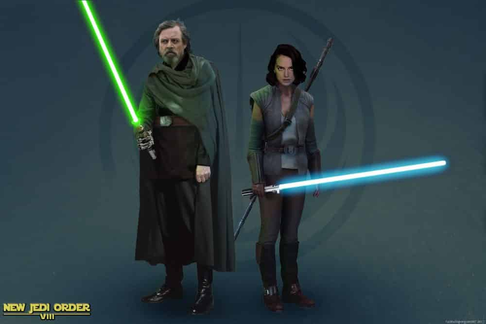 nuevo look de Luke y Rey en Star Wars Episodio VIII (1)