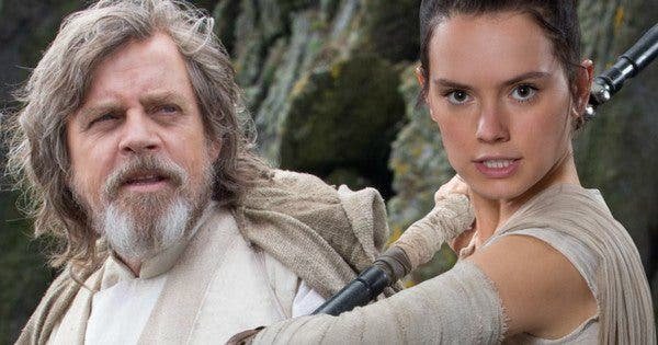 nuevo look de Luke y Rey en Star Wars Episodio VIII