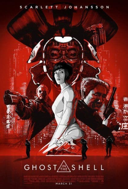 Nuevo poster de Ghost In The Shell con Scarlett Johansson