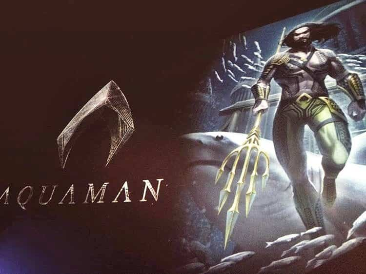 nuevo traje de Aquaman (2017) Jason Momoa