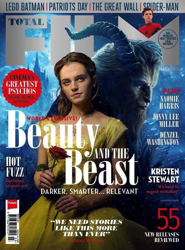 portada Emma Watson en La Bella y la Bestia