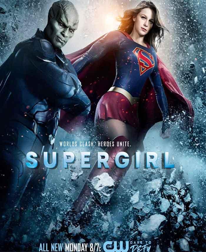 póster de 'Supergirl' serie de CW