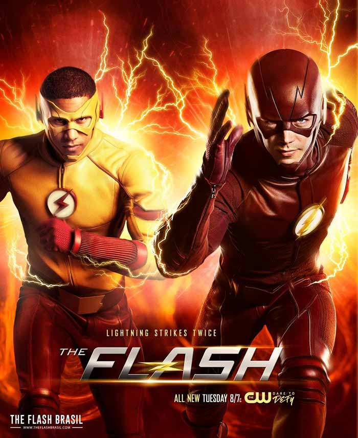 póster de 'The Flash' serie de CW