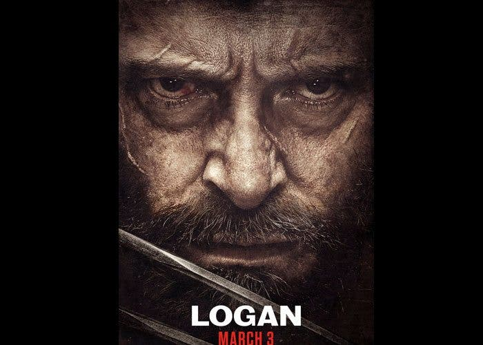 póster de 'Logan' con Lobezno llorando