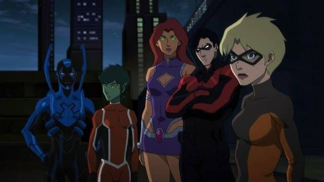 tráiler 'Teen Titans: The Judas Contract' animación DC Comics