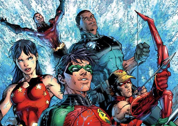 primer vistazo a 'Teen Titans: The Judas Contract'