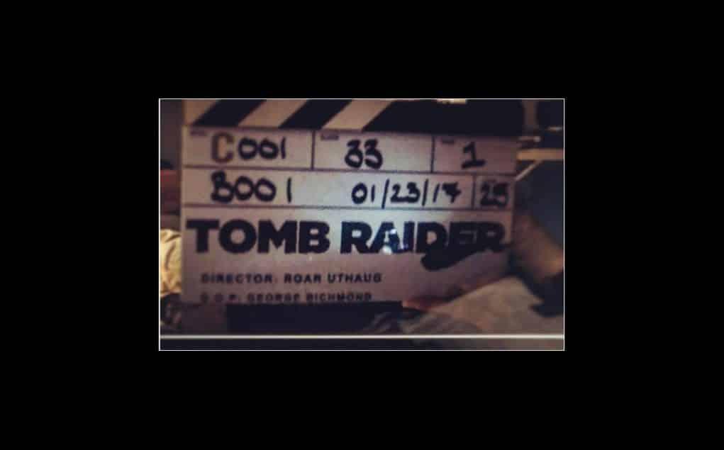 primera imagen del rodaje de 'Tomb Raider' con Alicia Vikander