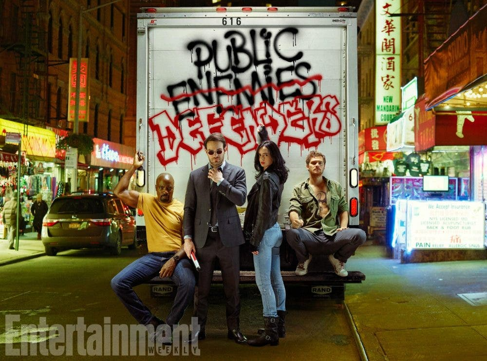primeras imagenes oficiales de 'The Defenders' (Daredevil, Jessica Jones, Luke Cage, Iron Fist) 1