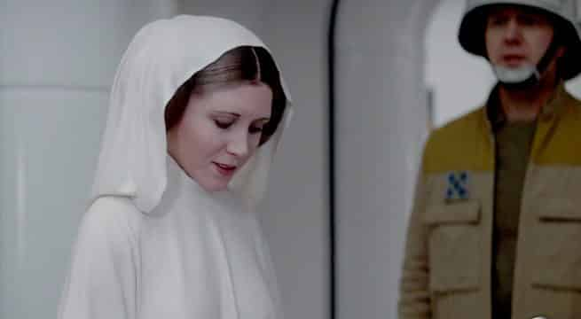 princesa Leia en Rogue One (Star Wars)