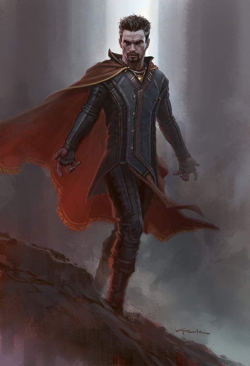 traje alternativo de Benedict Cumberbatch en Doctor Strange