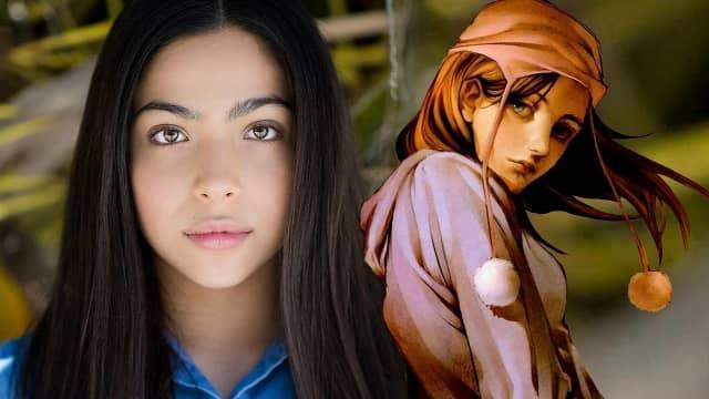 Allegra Acosta es Molly Hernández